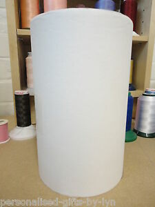 EMBROIDERY STABILISER 20cm x 100metre roll Med weight easy tear stabiliser