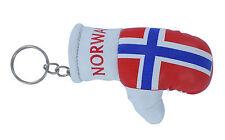 llaveros coche moto keychain key chain bandera guante de boxeo Noruega norway