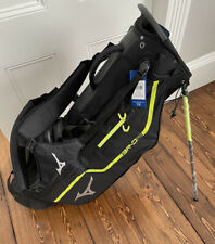 NEW Mizuno Golf BR-DRI Waterproof Stand / Carry Bag - Black / Lime Punch