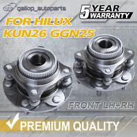 Wheel Bearing Hub Hubs fits Toyota Hilux GGN25R 4.0L 4WD KUN26R D-4D 3.0L Front