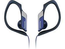 Panasonic Rphs34 Blue Water Sweat Resistant Sports Earclip Earphone Headphones