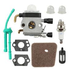 Carburetor for STIHL FS55R FS55RC KM55 HL45 KM55R FS55 Air Filter Fuel Line