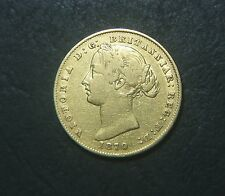 1870 One Sovereign, Sydney Mint, gold coin