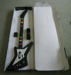 Rock Zero II Guitar + Box & Dongle - Guitar Hero - PS2 - Explorer - 10 Fret