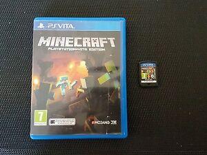 ***MINECRAFT - PS VITA GAME - GREAT CONDITION!!***