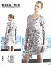VOGUE 1315 SEWING PATTERN REBECCA TAYLOR PULLOVER DRESS SZ A5 6-14 NEW UNCUT