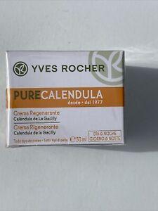 Yves Rocher Pure Calendula Regenerating Cream Day/Night, 50 ml
