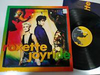 """ROXETTE Joyride Emi Spain Edition 1991 - LP vinyl 12 """" VG/VG 2T"""