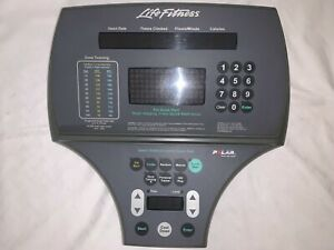 Life Fitness faceplate With Electronics