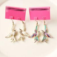 New Betsey Johnson Bird Drop Earrings Fashion Women Party Jewelry 2Colors Chosen