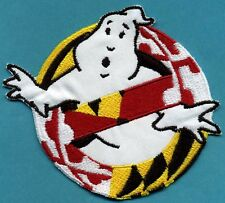 Baltimore - Ghostbusters No Ghost Embroidered Iron-on Patch