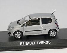 Renault Twingo 2007, argento metallizzato, NOREV, 1:43