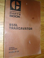 Caterpillar 955L PARTS MANUAL BOOK CATALOG LOADER TRAXCAVATOR 85J4672  UP (276)