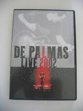 DVD du concert DE PALMAS LIVE 2002 en TBE