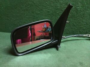 1989 - 1992 Volkswagon Golf LH driver side Remote door mirror Used OEM