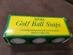 Avon Golf Ball Soaps Collectable Vintage