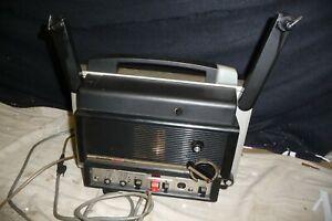 Cine projector CHINON 8000 sound super 8mm - serviced & new bulb + lead