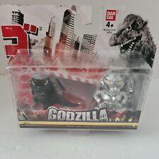 More details for bandai godzilla monster chibi figures godzilla and mechagodzilla rare