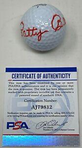 PATTY BERG Signed LPGA Golf BALL Founding Member 1st US OPEN Winner PSA/DNA COA