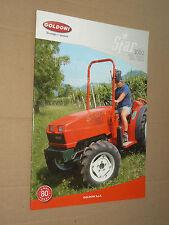 Prospectus Tracteur GOLDONI STAR 3000 brochure tractor trattore traktor prospekt