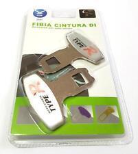 Set 2 Ganci Sicurezza Bip Stop Cintura Spia Allarme Universale Attacco TypeR hsb