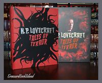 Tales of Terror by H.P. Lovecraft Illustrated New Collectible Hardcover Slipcase