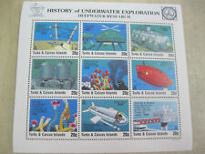 Turks and Caicos Islands deep water research underwater exploration I201804