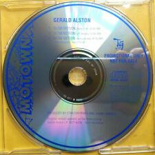 GERALD ALSTON Slow Motion PROMO CD SINGLE New Jack Swing R&B Quiet Storm INSTR