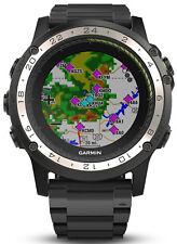 New Garmin D2 Charlie Aviation Pilot Watch w/ Titanium Strap 010-01733-32