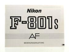 Bedienungsanleitung: Nikon F-801S AF - (35551)