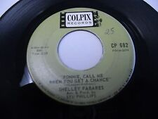 Shelley Fabares Ronnie Call Me When You Get a Chance / Left a Note 45 Colpix VG