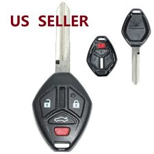 Uncut Replacement Shell Remote key Case Fob 4 Button for Mitsubishi Eclipse
