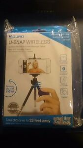 ADURO U-SNAP Universal Wireless Bluetooth Selfie Remote for iPhone Smartphone
