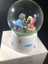 Carte Blanche 'Me to You' Snow Globe with Multi-colored Lights Skating Bears