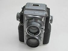 RARE Zeiss Ikon Contaflex TLR twin lens reflex 5cm f:1.5 Sonnar lens BEAUTIFUL
