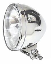 """Proiettore Faro 5-3/4"""" Cromato Skyline LED Montaggio Inferiore Moto Harley e Cus"""