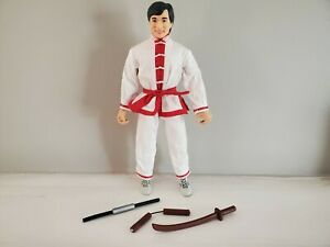 2001 PLAYMATES TRAINING JACKIE CHAN DELUXE ACTION FIGURE Loose Complete