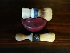 Lot Of Vintage Shaving Bowl And Brushes