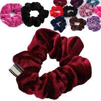 Set of 4 Elastic Hair Scrunchie Ponytail Holder Scrunchy Hairband Accessories