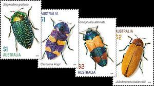 MUH Jewel Beetles 2016 Australian Sheet Stamp Set