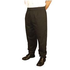 Jrc Ritz Foodservice Rzpantbklg Baggy Style Chef Pants - Black, Size Large
