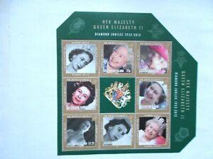 ASCENSION ISLAND: 2012 Royal Diamond Jubilee Souvenir Sheet U/M  MS1128