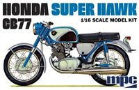 MPC Honda Super Hawk Motorcycle 1:16 scale model kit new 898