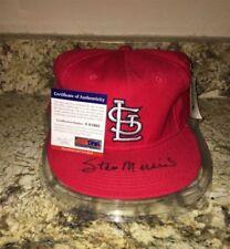 St. Louis Cardinals Baseball MLB Original Autographed Hats