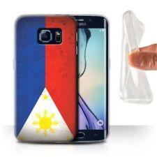 Cover e custodie opaco Per Samsung Galaxy S6 edge in silicone/gel/gomma per cellulari e palmari