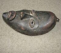 Old Antique African Dan Face Masque Mask Liberia, Ivory Coast Africa Baule Art