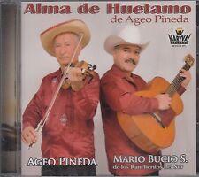 Alma de Morelos Ageo Pineda Y Mario bucio CD New Nuevo SEALED