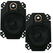 "Infinity Kappa 64CFX 4"" x 6"" 2-Way 2.5-Ohm Car Audio Coaxial Speakers NEW"