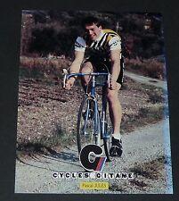 CPA CARTE POSTALE 1982 CYCLISME PASCAL JULES RENAULT-ELF CYCLES GITANE
