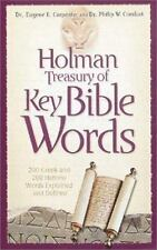 Holman Treasury of Key Bible Words: 200 Greek and 200 Hebrew Words Explained and